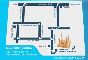 Denah Masjid Imam Syafii