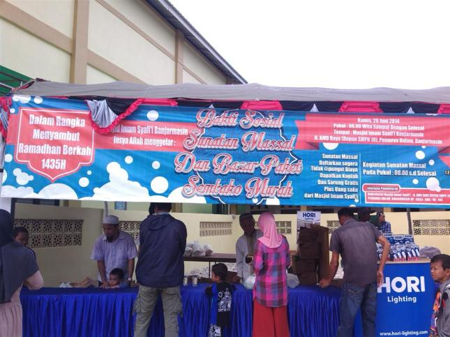 Sunatan Massal dan Bazar Semako Murah
