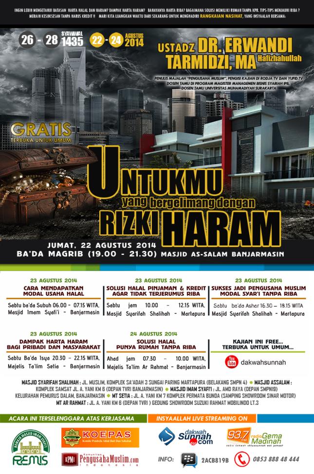 Ust.Erwandi Tarmidzi @Banjarmasin