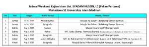 Kajian Islam ilmiah bersama ustadz Syadam Husein di Masjid Imam Syafii Banjarmasin